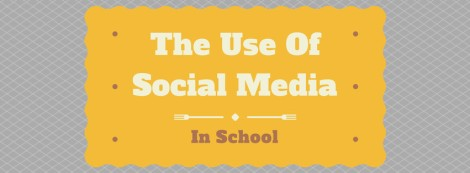The use of social media in school